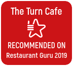 the turn cafe badge